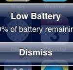 Disappointing when you know you've recently fully recharged!