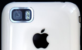 iPhone with 3mp and dual LED flash